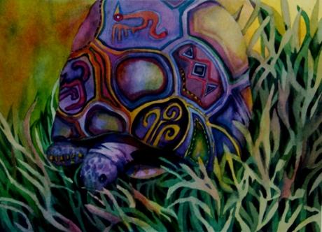 """""""Mayan Tortoise"""""""